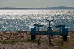 Adriatisches Meer in Kroatien Lizenzfreies Stockbild