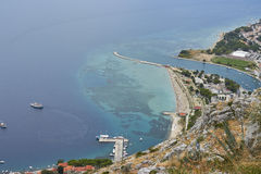 Adriatisches Meer, Kroatien Stockfotografie