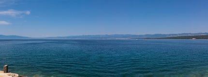 Adriatisches Meer, Kroatien Lizenzfreie Stockfotos
