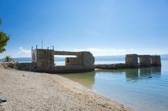 Adriatisches Meer Kroatien Lizenzfreies Stockfoto