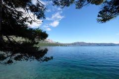 Adriatisches Meer in Kroatien Stockfotos