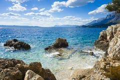 Adriatisches Meer Kroatien Europa Stockfotos