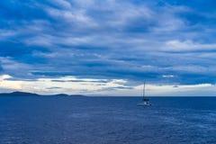 Adriatisches Meer Kroatien Europa Stockbild