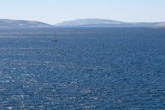 Adriatisches Meer. Kroatien. Istria. Krk Lizenzfreie Stockfotos