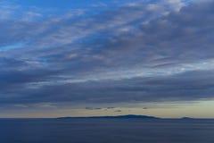 Adriatisches Meer Kroatien, am 8. Oktober 2017 Lizenzfreies Stockfoto