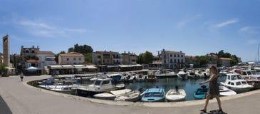 Adriatisches Meer, Malinska in Insel Krk Lizenzfreies Stockbild