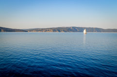 Adriatisches Meer morgens, Kroatien Lizenzfreie Stockfotografie