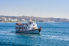 Adriatisches Meer rhodes Griechenland Stockbilder