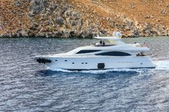 Adriatisches Meer rhodes Griechenland Stockfoto