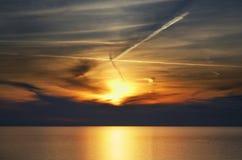 Adriatisches Meer in Rovinj Stockfotografie