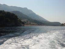 Adriatisches Meer, segelnd in Sommer Lizenzfreie Stockfotos