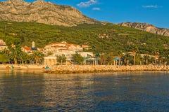 Adriatisches Meer Tucepi Lizenzfreies Stockbild