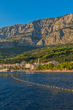 Adriatisches Meer Tucepi Stockbilder