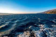 Adriatisches Meer und kroatische Inseln Stockfotografie