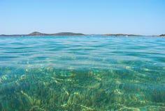 Adriatisches Meer, Vodice, Kroatien Stockfoto