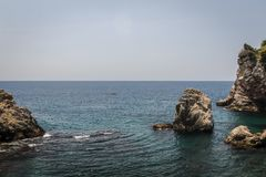 Adriatisches Meer von Dubrovnik, Kroatien Lizenzfreie Stockfotografie