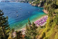 Adriatisches meeres- Dubrovnik, Dalmatien, Kroatien Lizenzfreie Stockfotografie