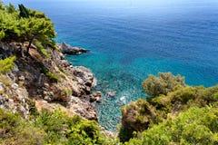 Adriatisches meeres- Dubrovnik, Kroatien Stockfotos