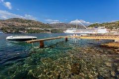 Adriatisches meeres- Dubrovnik, Kroatien Lizenzfreies Stockbild