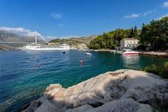 Adriatisches meeres- Dubrovnik, Kroatien Lizenzfreie Stockfotografie