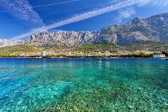 Adriatisches meeres- Makarska, Kroatien Stockbilder