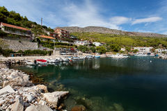 Adriatisches meeres- Makarska Riviera nahe gelegenes Makarska, Kroatien Lizenzfreies Stockfoto