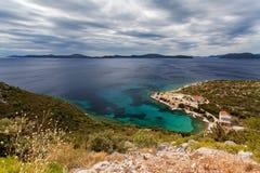 Adriatisches meeres- nahe gelegenes Dubrovnik, Kroatien Stockfotografie