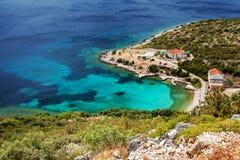 Adriatisches meeres- nahe gelegenes Dubrovnik, Kroatien Stockfoto
