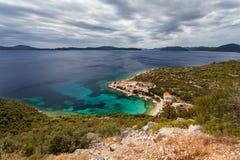 Adriatisches meeres- nahe gelegenes Dubrovnik, Kroatien Lizenzfreie Stockfotografie