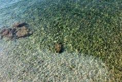 Adriatisches Meerwasser Stockfotografie