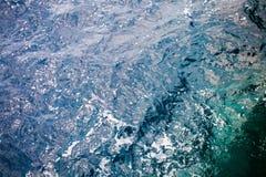 Adriatisches Meerwasser Stockbild