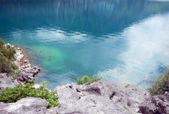 Adriatisches Meerwasser Lizenzfreie Stockbilder