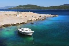 Adriatisches See-Kroatien-Küste Lizenzfreies Stockbild