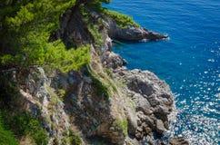 Adriatisches Seeansicht Stockbild