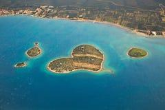 Adriatisches Seeansicht Stockfotos