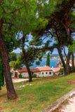 Adriatisches Seeansicht bei Rovinj Stockfotografie
