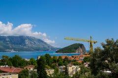 Adriatisches Seeberge Lizenzfreies Stockfoto