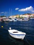 Adriatisches Seeboot Stockfoto