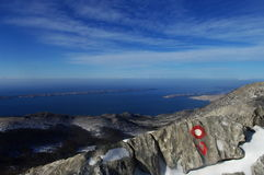 Adriatisches Seeinseln Lizenzfreie Stockfotografie