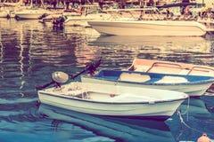 Adriatisches Seejachthafen Lizenzfreie Stockbilder