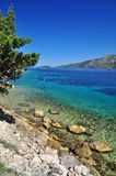 Adriatisches Seelandschaft Lizenzfreies Stockfoto