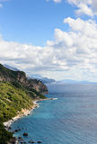 Adriatisches Seelandschaft Stockfotos