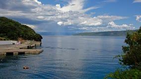 Adriatisches Seemeerblick Lizenzfreie Stockfotografie