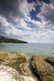 Adriatisches Seesommerlandschaft Lizenzfreie Stockbilder