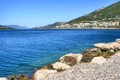 Adriatisches Seeszenische Ansicht. Lizenzfreie Stockfotos