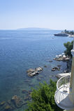 Adriatisches Seeszenische Ansicht, Kroatien-Tourismus Lizenzfreies Stockfoto