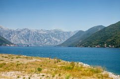Adriatisches Seeufer Stockbilder