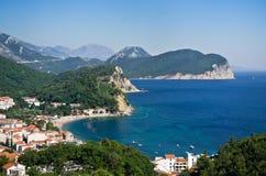 Adriatisches Seeufer Lizenzfreie Stockfotografie