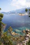 Adriatisches Seeufer. Montenegro Lizenzfreie Stockfotos