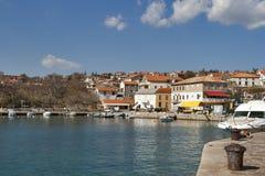 Adriatisches Silodorf Stockfoto
